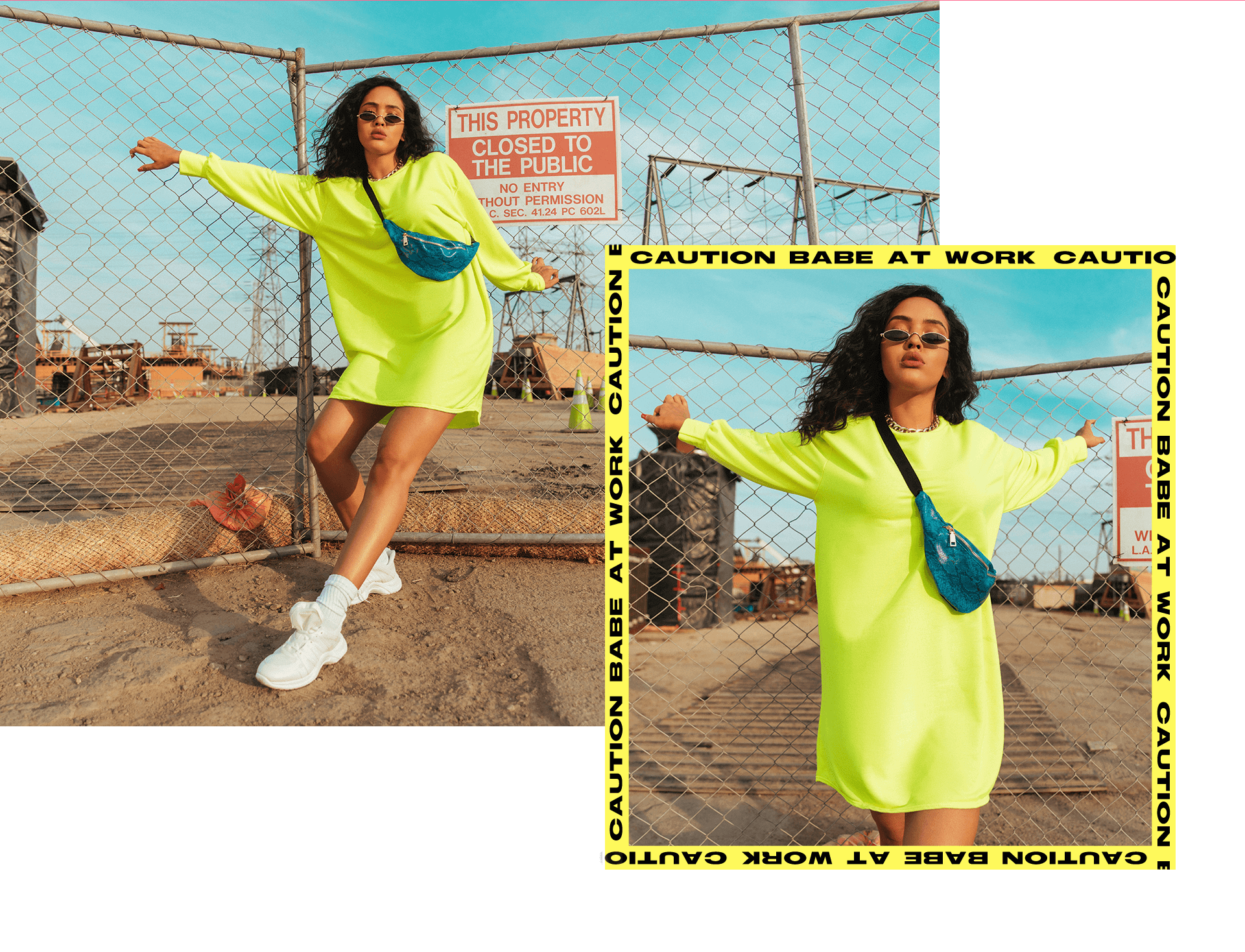 Izabela Guedes Shoot Neon Season 1 Desktop